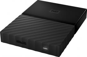 "Western Digital 1TB 2,5"" My Passport for Mac USB-C and Time-Machine Ready WDBFKF0010BBK-WESE"